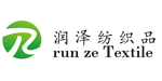 润泽布料logo广告